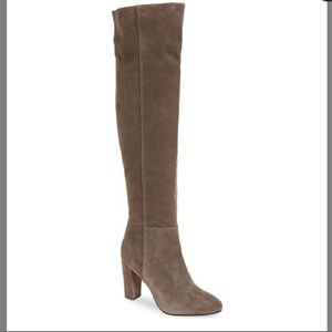 Nordstrom over the knee boots WITH BOX